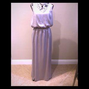 Show me your MuMu satin column dress